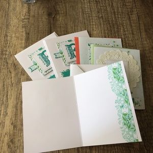 Party Supplies - Handmade Variety Pack ( Total 5 Cards)